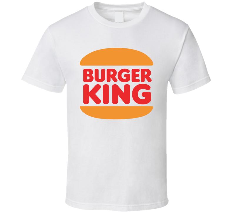 Burger King Logo Retro Hipster Gift Fan T Shirt