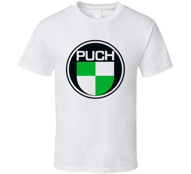 Puch Motorcycle Logo Retro Gift Fan T Shirt