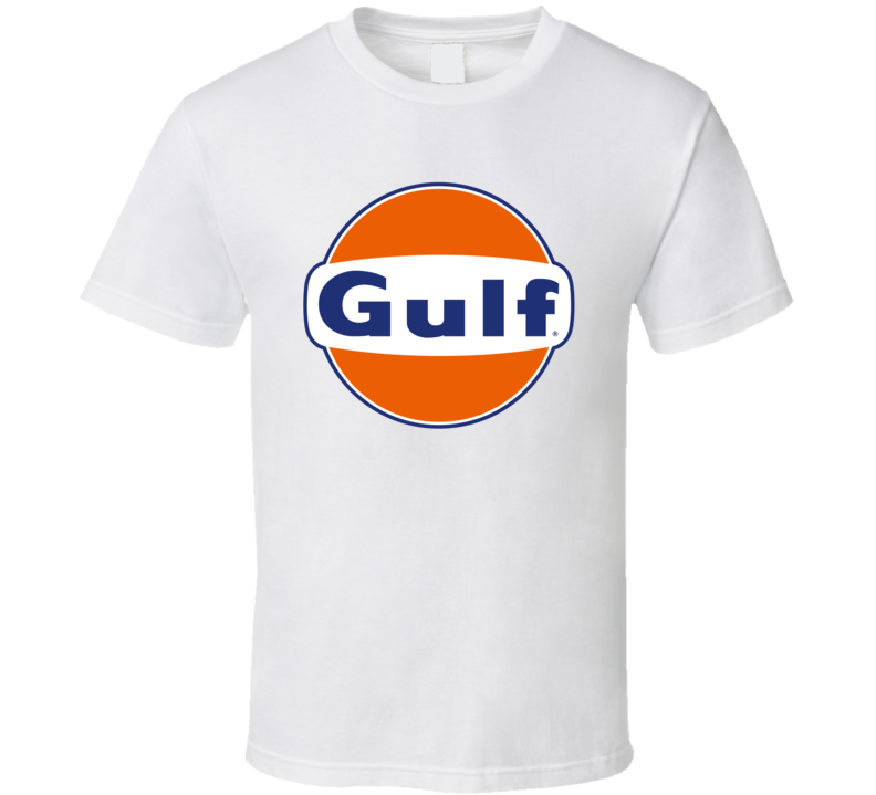 Gulf Oil Logo Gift Retro Fan T Shirt