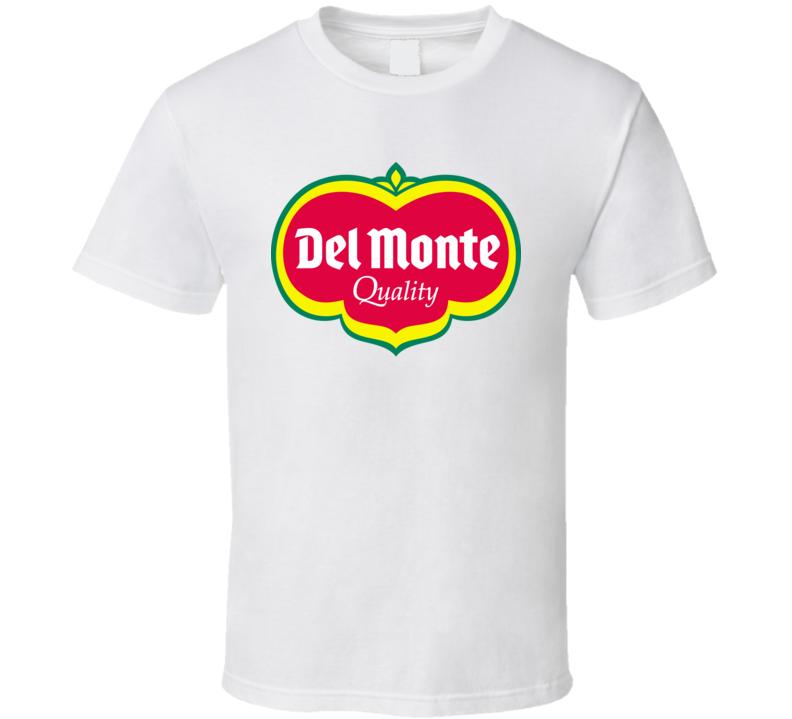 Del Monte Logo Retro Hipster Gift Fan T Shirt