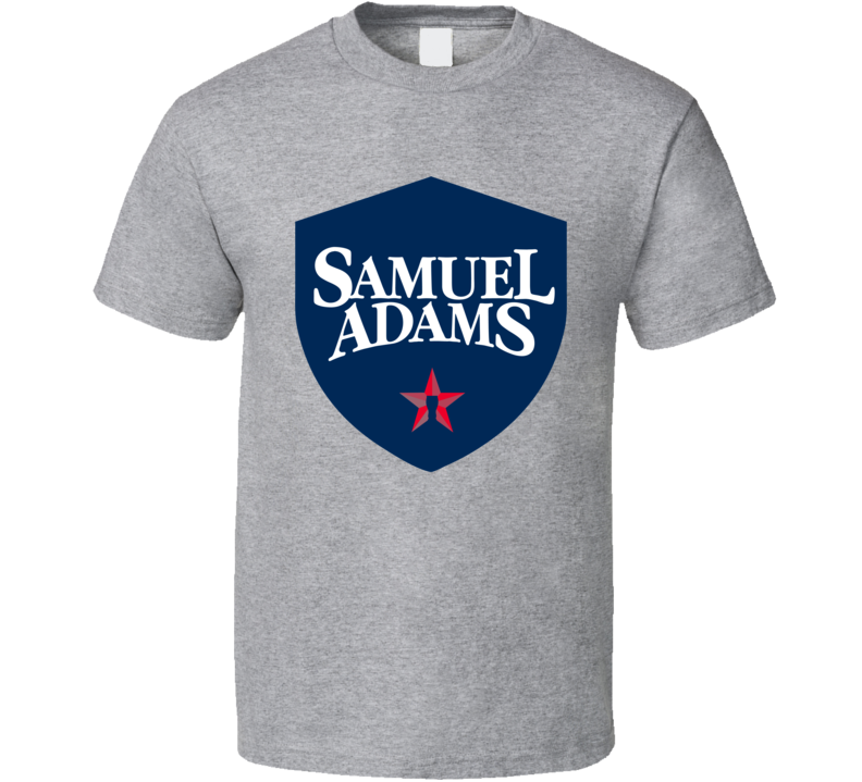 Samuel Adams Beer Logo Hipster Gift Fan T Shirt