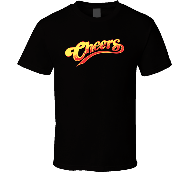 Cheers Tv Show Logo Trendy Gift Fan T Shirt