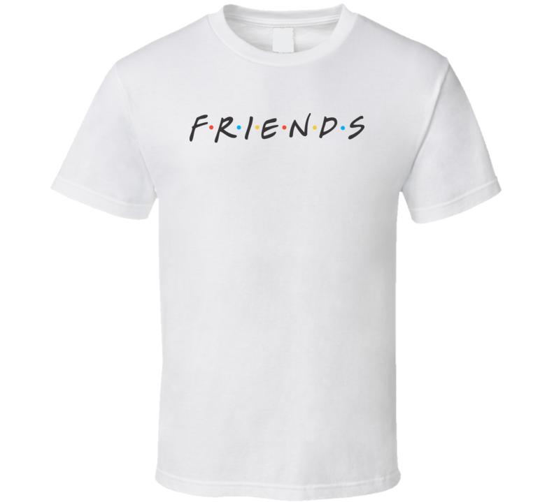 Friends Tv Show Retro Gift Fan T Shirt