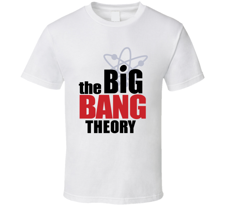 The Big Bang Theory Tv Show Gift Fan T Shirt