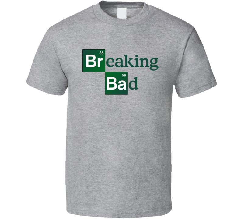 Breaking Bad Tv Show Logo Gift Fan T Shirt