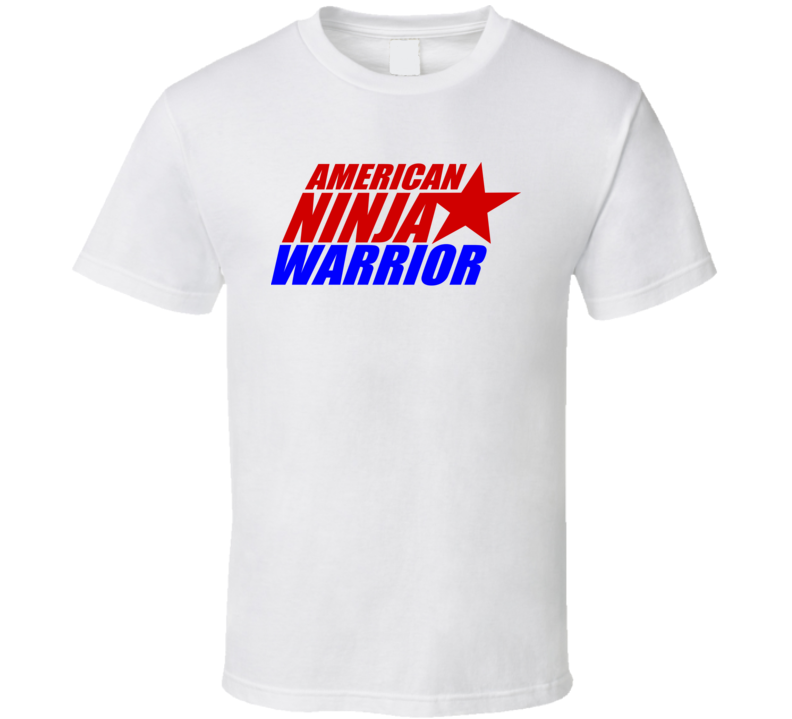 American Ninja Warrior Tv Show Logo Gift Fan T Shirt