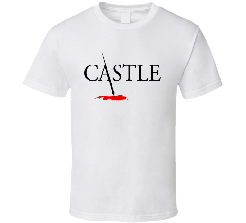 Castle Tv Show Logo Trendy Gift Fan T Shirt