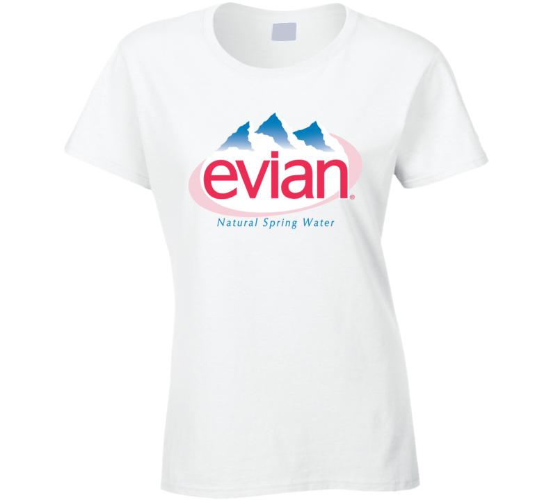 Best Evian Spring Water Logo Hipster Gift Fan T Shirt