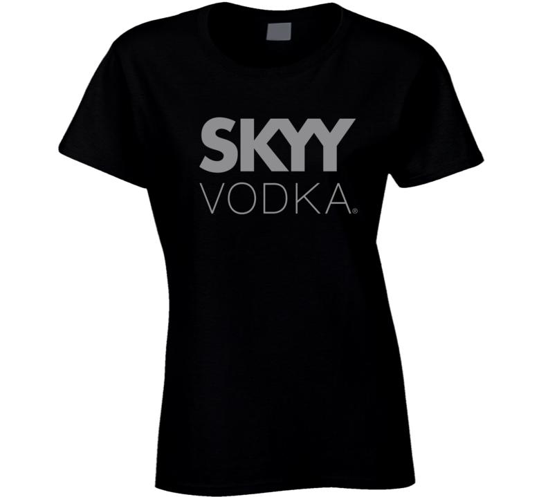 Best Skyy Vodka Logo Hipster Gift Fan T Shirt