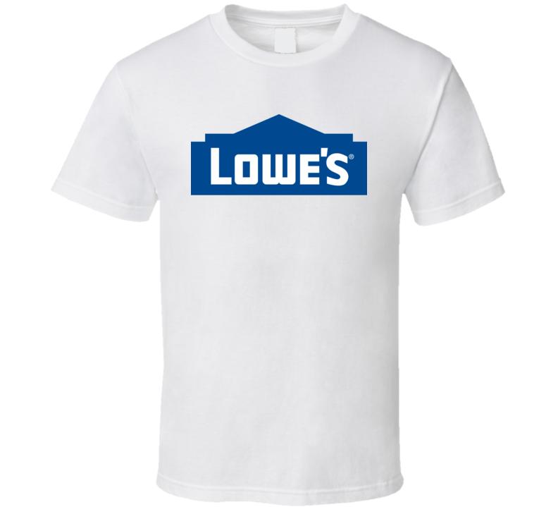 Best Lowes Employee Logo Costume Gift Fan T Shirt