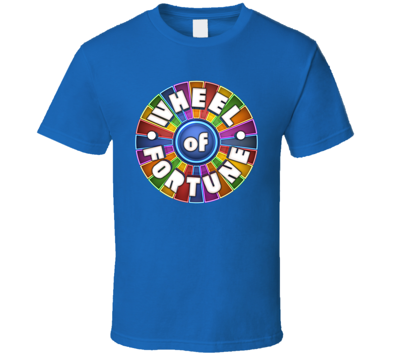 Best Wheel Of Fortune Hipster Retro Gift Fan T Shirt