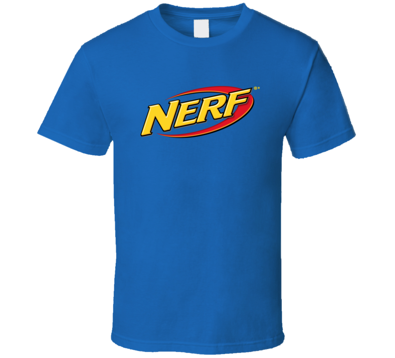 Best Nerf Toys Logo Retro Gift Fan T Shirt