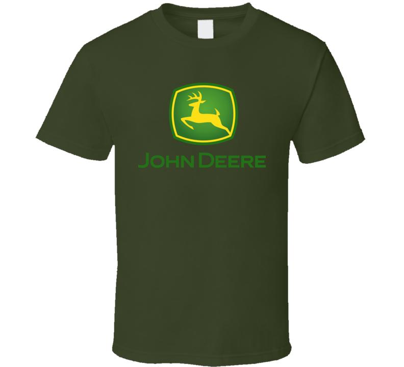 Best John Deere Logo Hipster Retro Gift Fan T Shirt