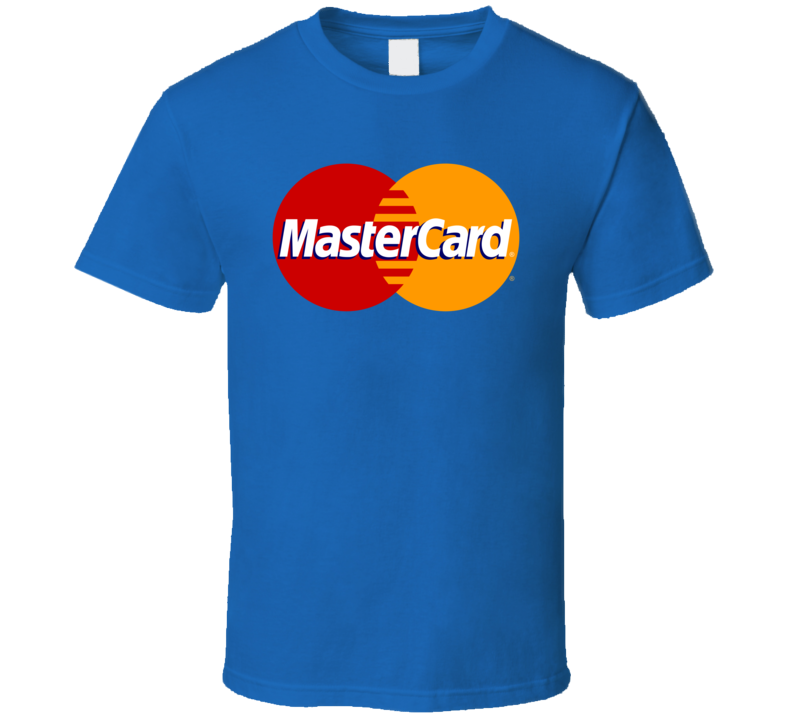 Best Mastercard Logo Hipster Funny Gift Costume T Shirt