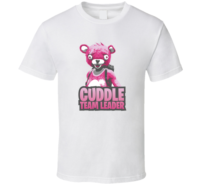 Cuddle Team Leader Cool Gamers T Shirt