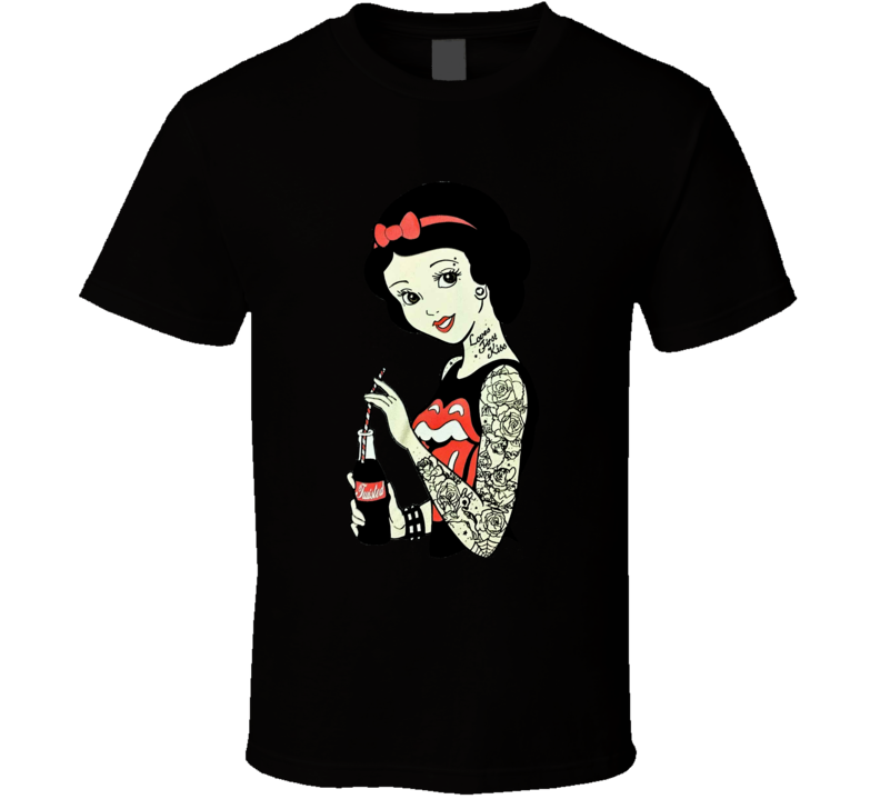 Bad Girl Snow White Fantasy Tale Drink Cool T shirt