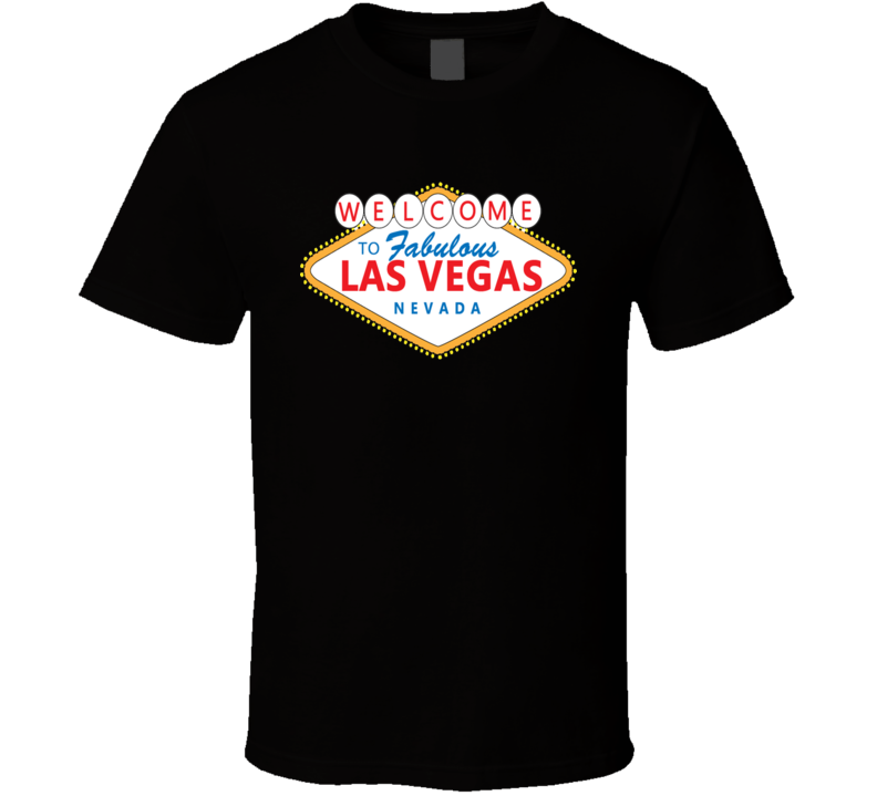 Las Vegas Welcome Sign cool T shirt