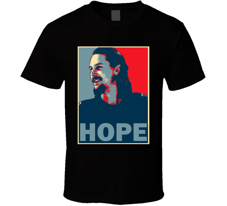 Erik Karlsson San Jose Hockey Fan Trade Hope T Shirt