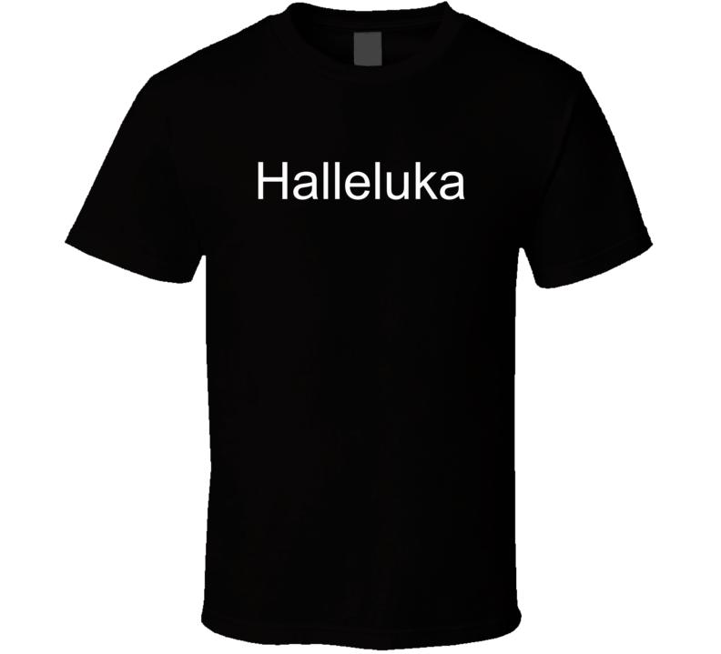 Luka Doncic Halleluka Dallas Mavericks Basketball Fan T Shirt
