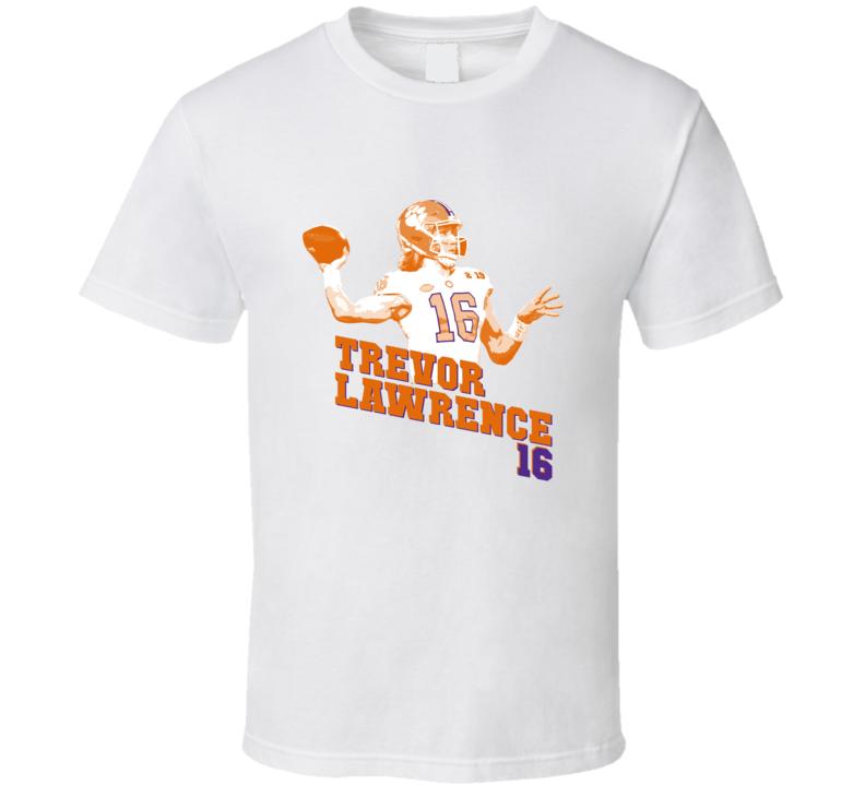 Trevor Lawrence Clemson Football Championship T Shirt