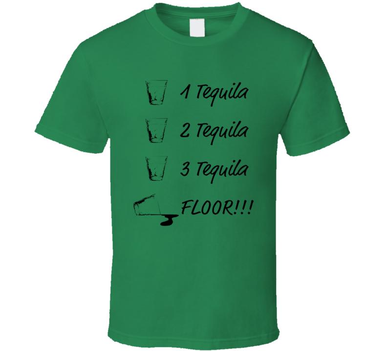 Three Tequila Floor Brooklyn 99 Season 6 Inspired T Shirt