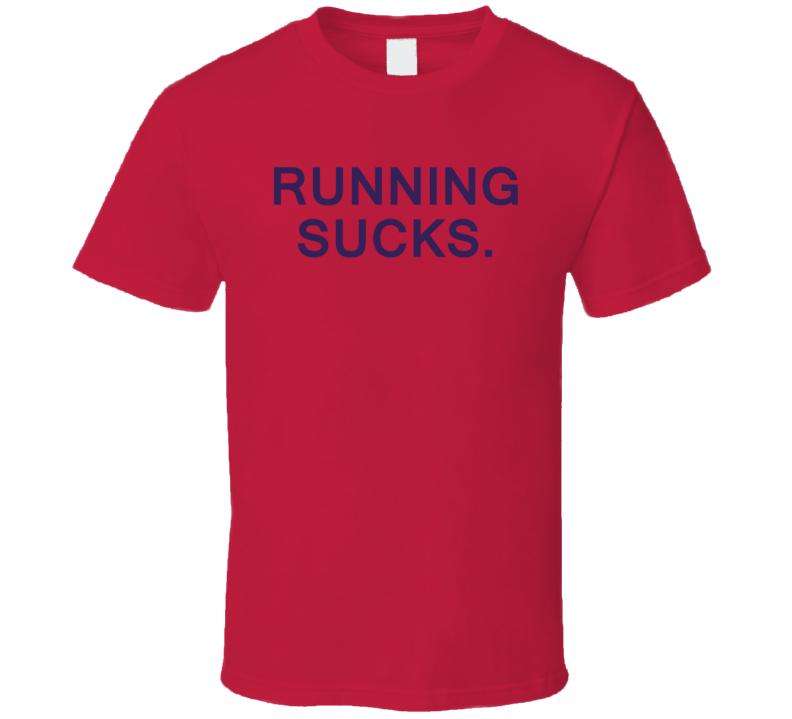 Alex Ovechkin Running Sucks T Shirt