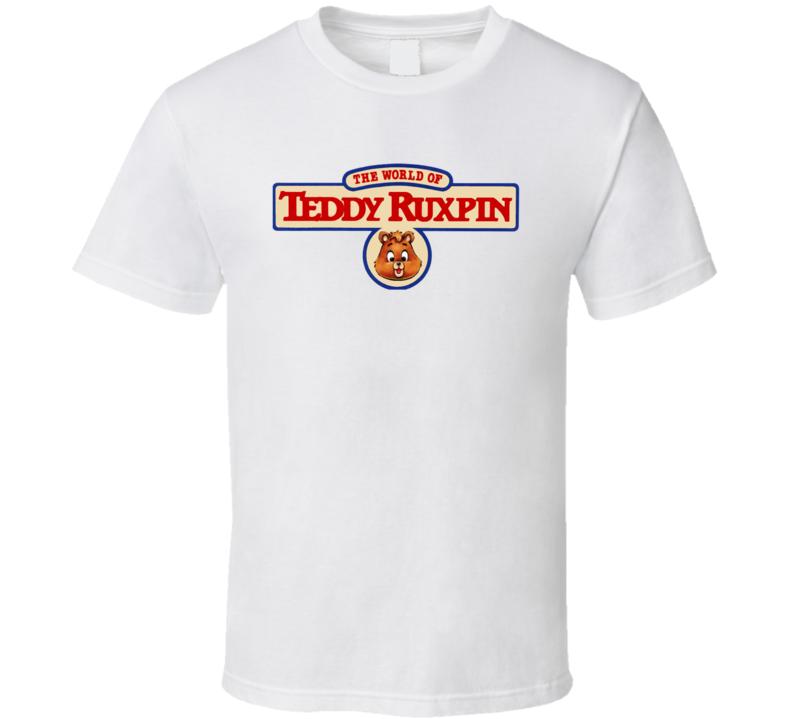 The World Of Teddy Ruxpin T Shirt
