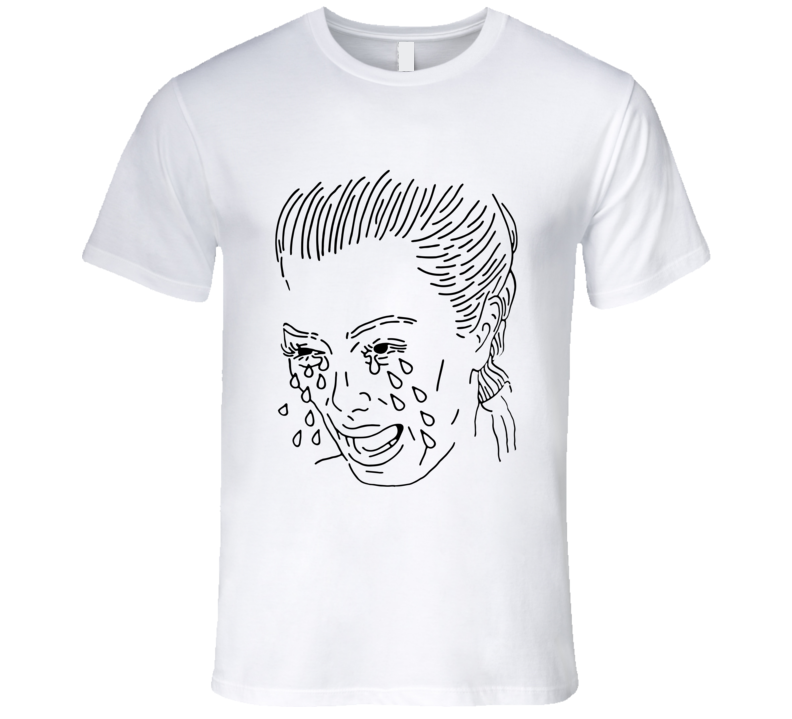 Kim Kardashian Crying Face T Shirt