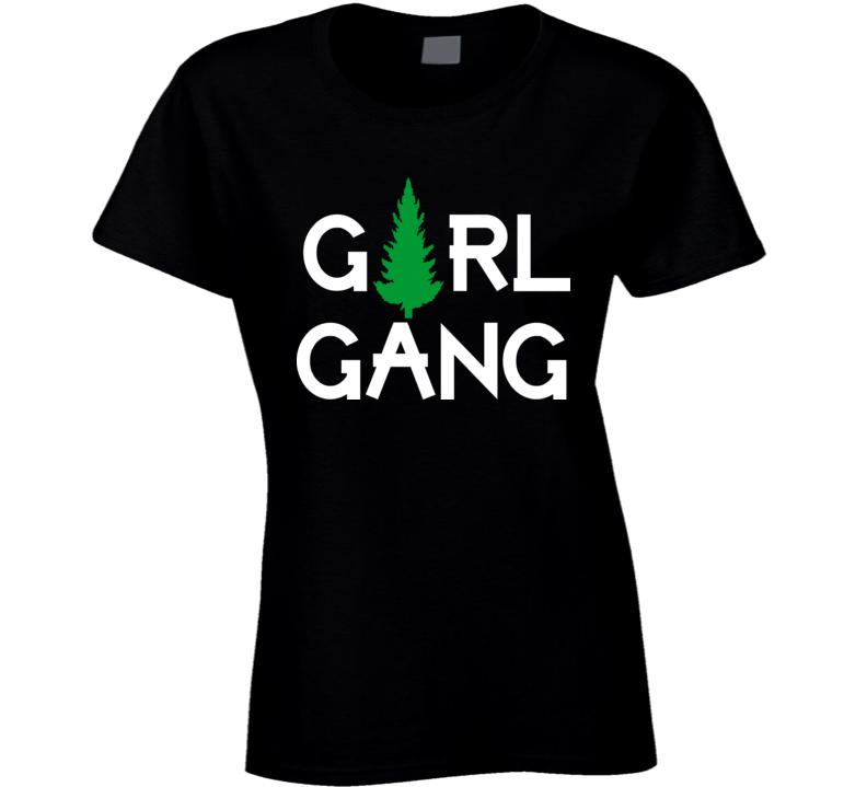 Girl Gang Black T Shirt