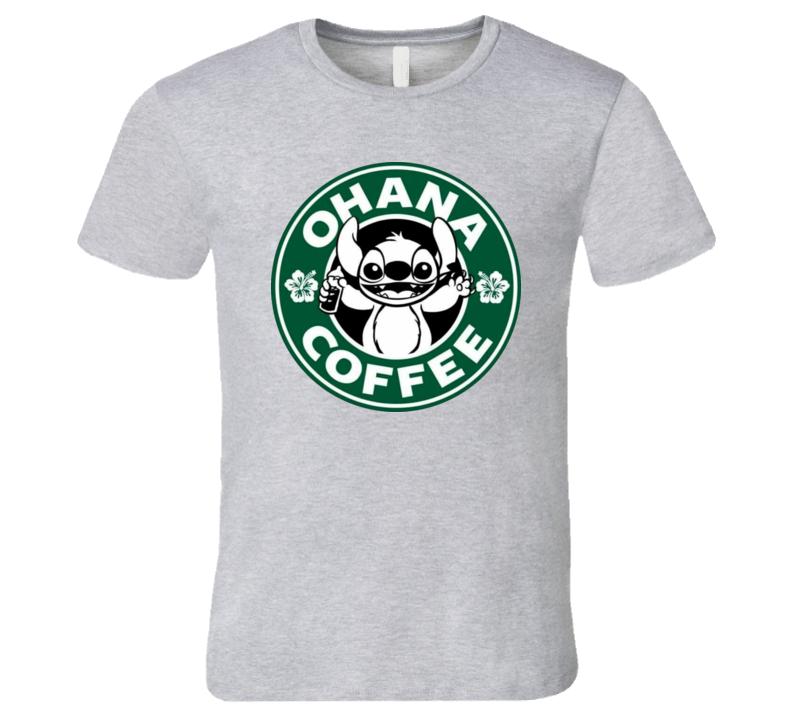 Ohana Coffee T Shirt
