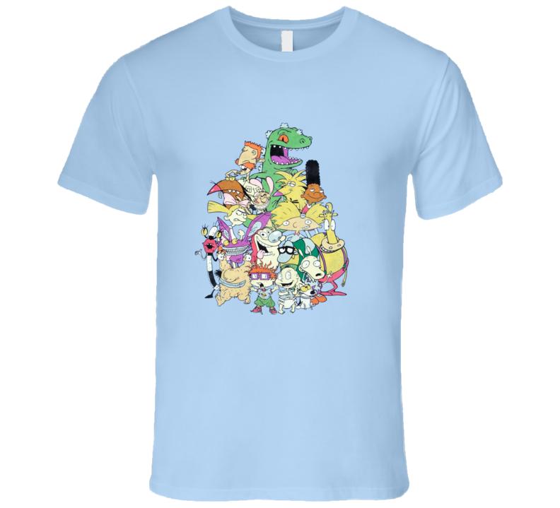 nickelodeon-old-school-group-shot T Shirt