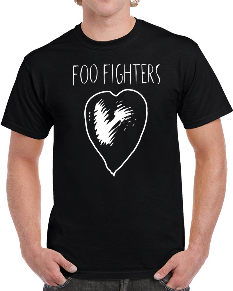 foo-fighters-heart T Shirt