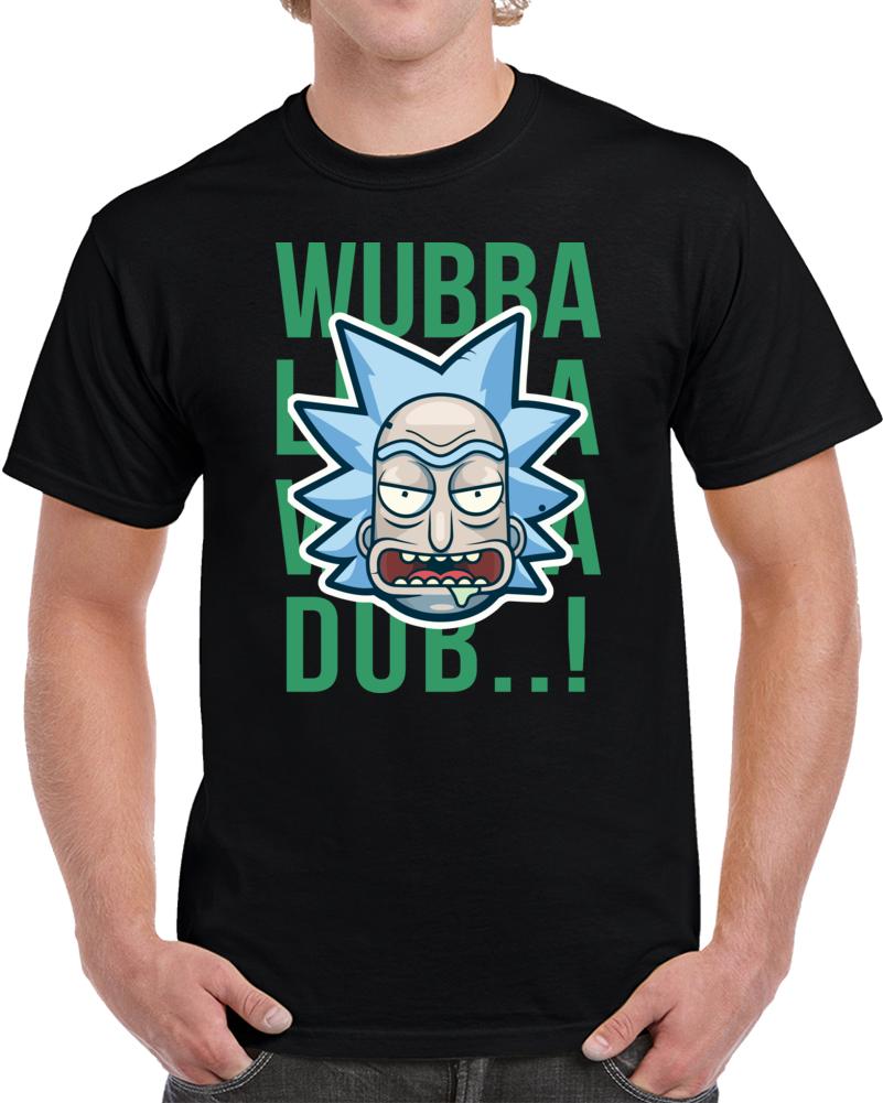 R&m-wubba Lubba Wubba Dub T Shirt