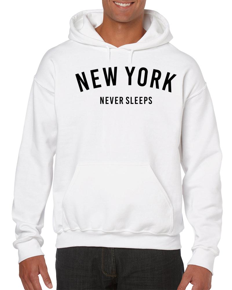 New York Never Sleeps Hoodie