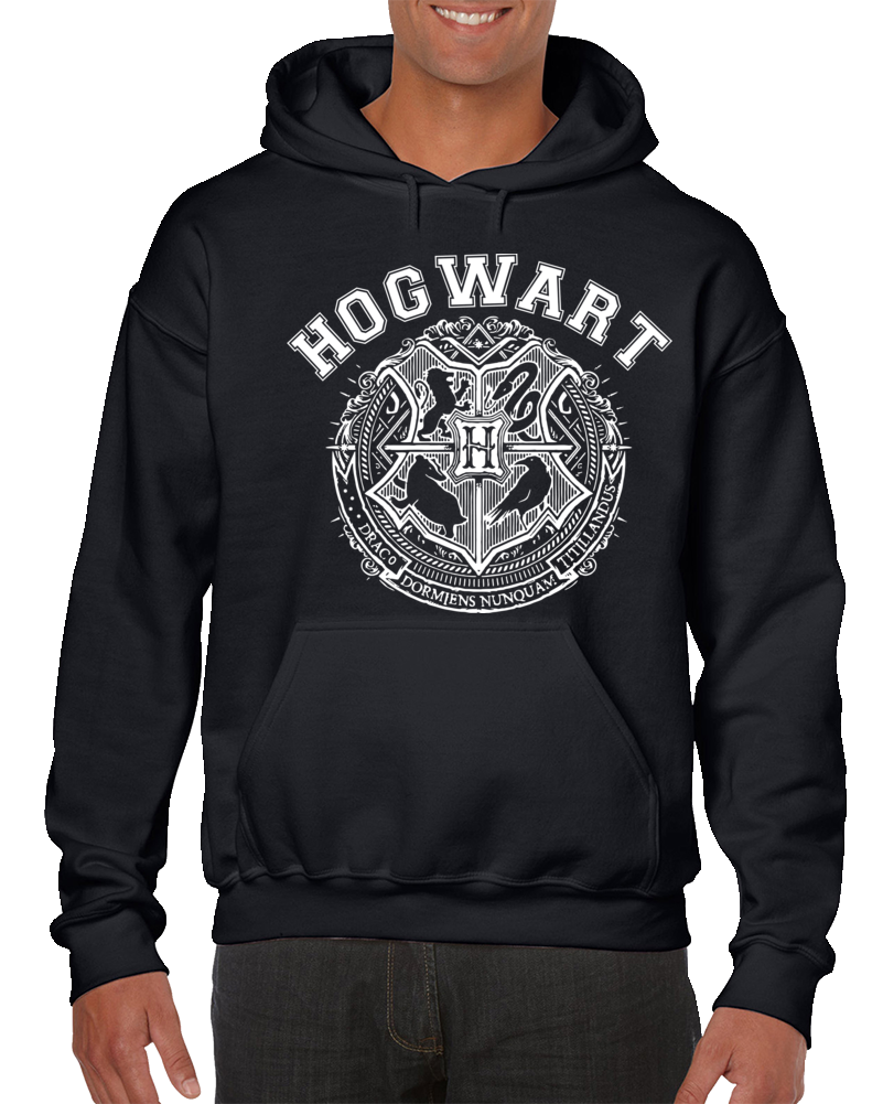 Hogwart-vintange Hoodie