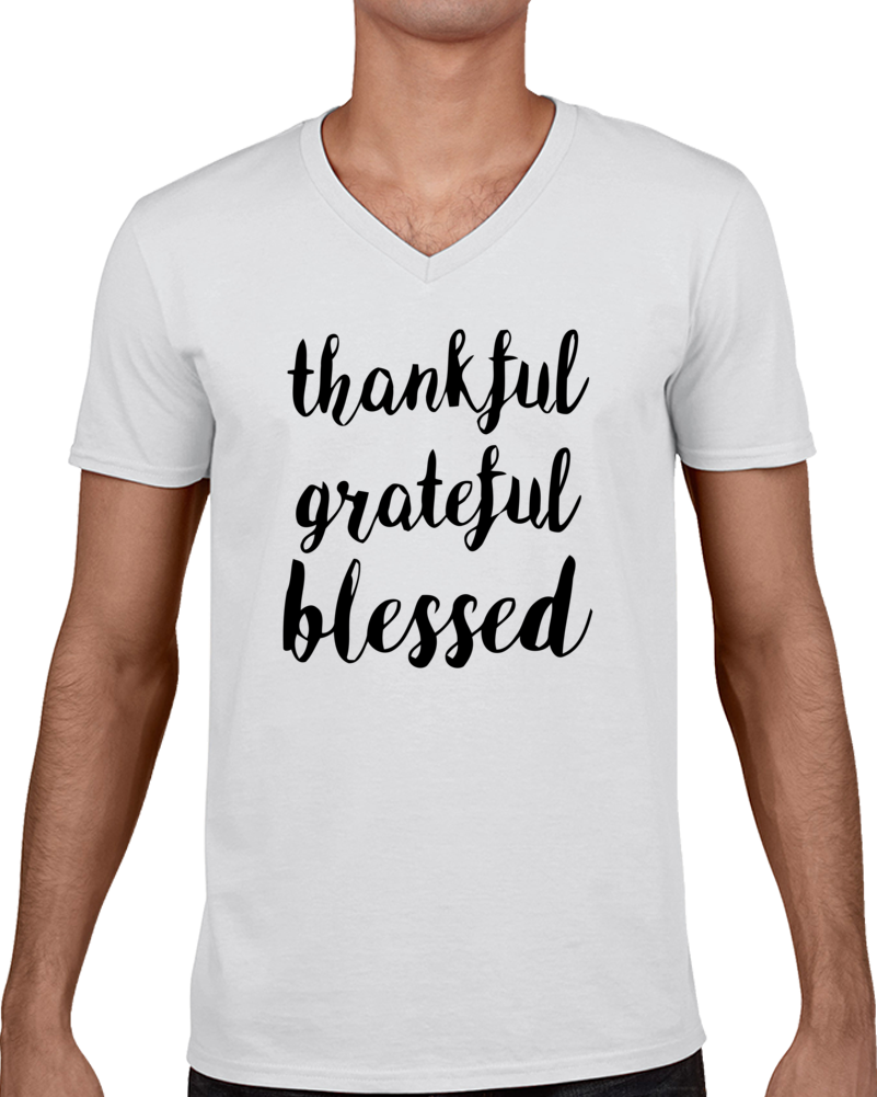 Thankful Grateful Blessed T Shirt