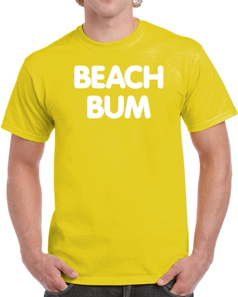 Beach Bum T Shirt