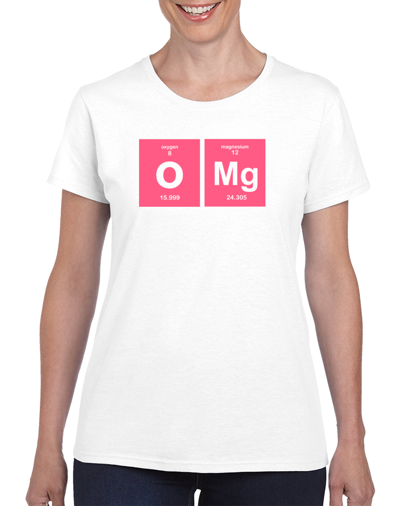 OMG-Funny Periodic Table T Shirt