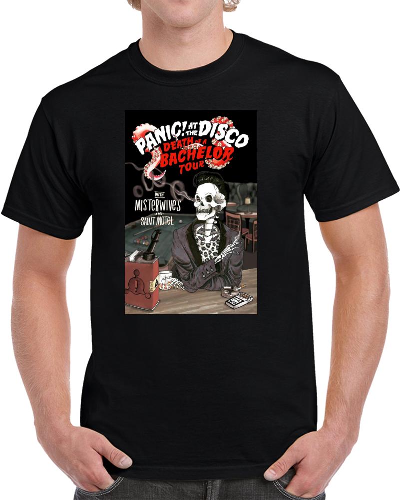 Panic At The Disco Death Bachelor Tour T Shirt