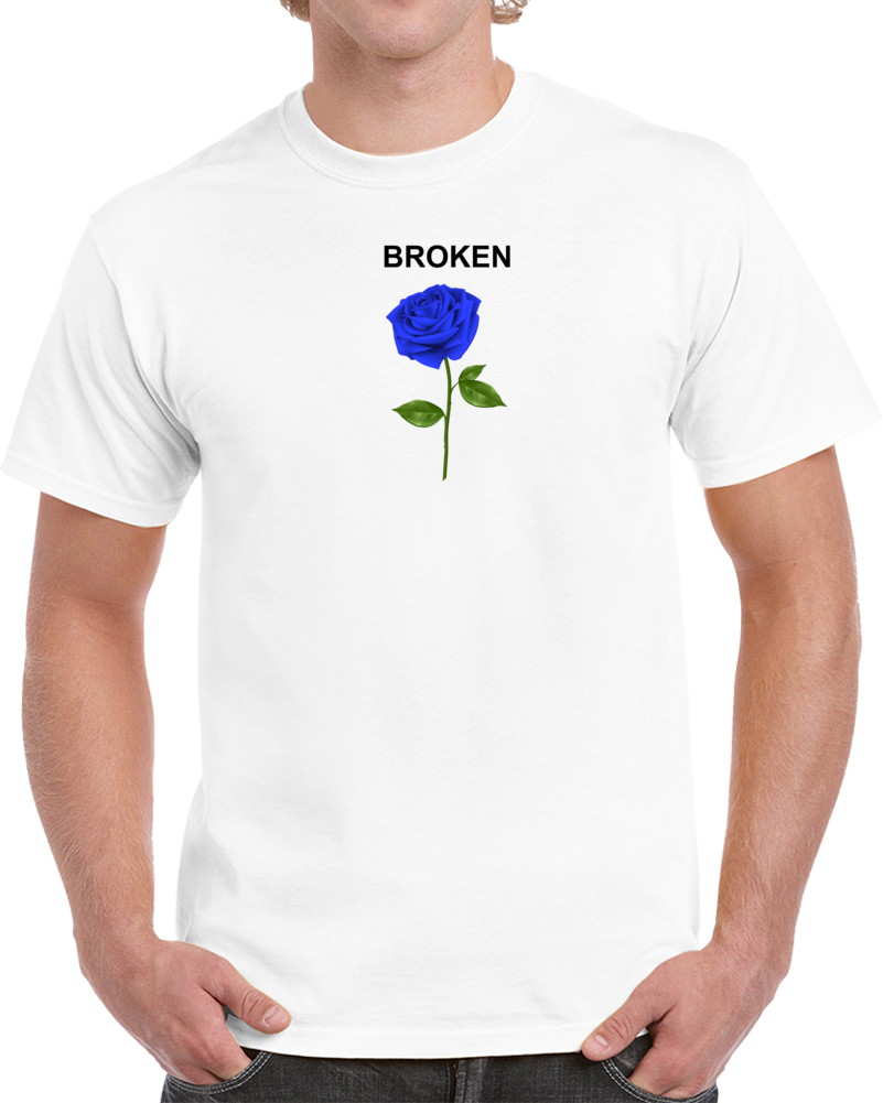 Broken Rose T Shirt
