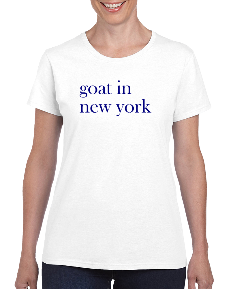 Goat In New York T Shirt