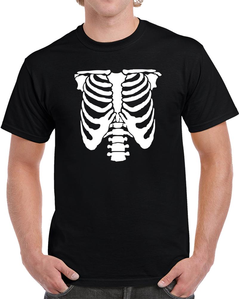 skeleton-stencil T Shirt