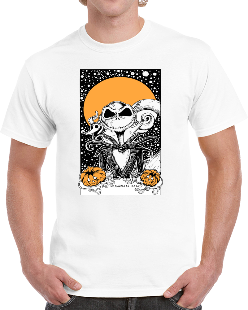 Jack's Nightmare The Pumpkin King T Shirt
