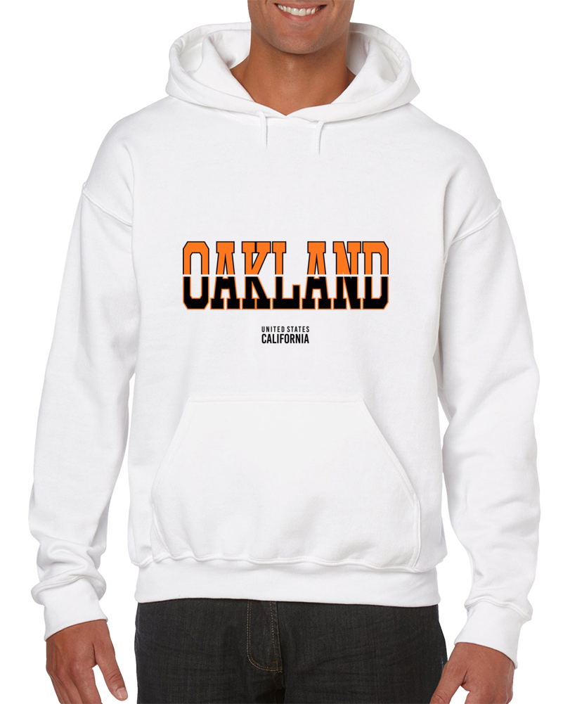 Oakland United States California Hoodie