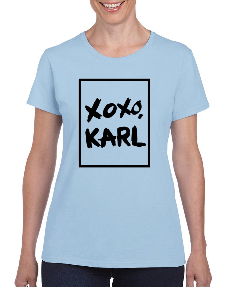 Xoxo Karl T Shirt