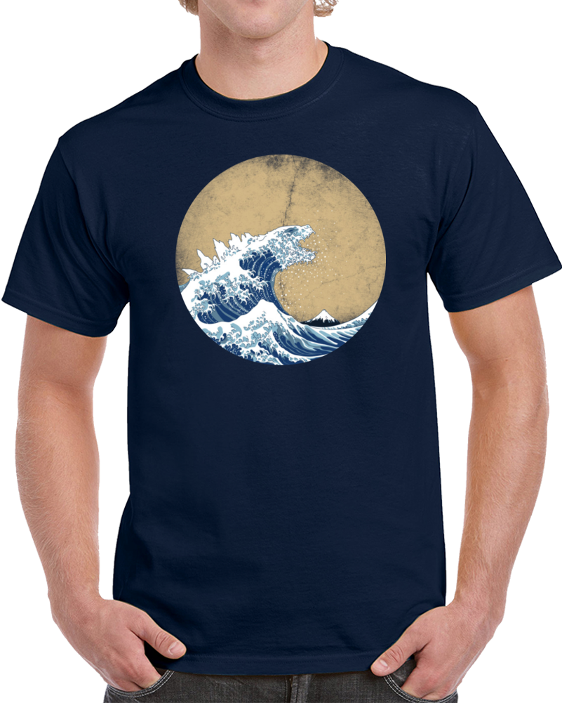 Waves Vintage T Shirt