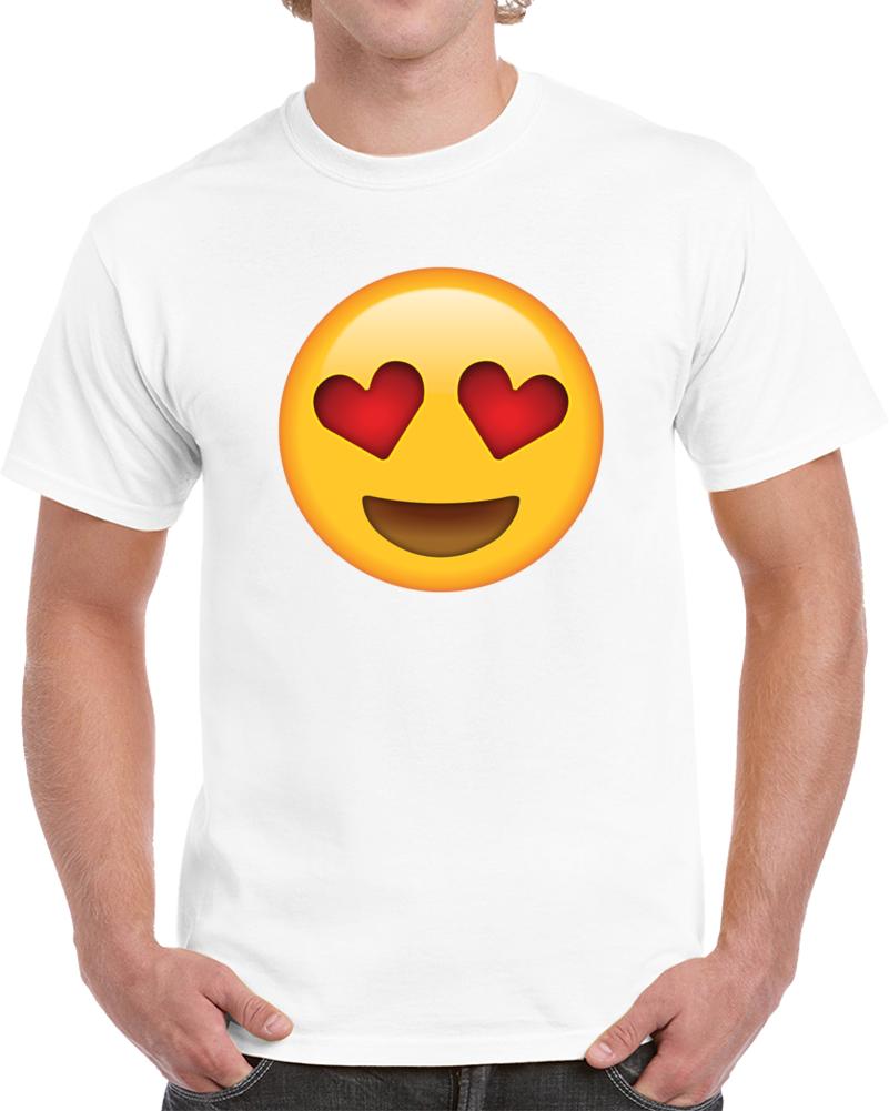 Heart Eyes Emoji T Shirt
