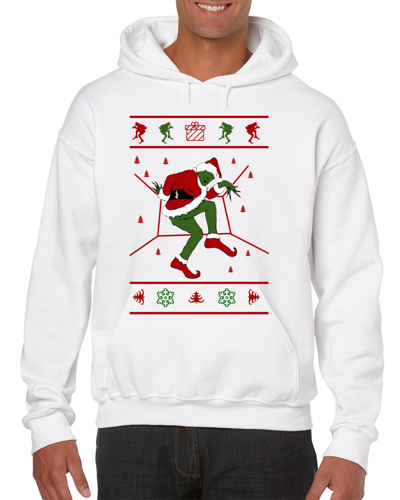 Grinch Hotline Bling Ugly Christmas Hoodie
