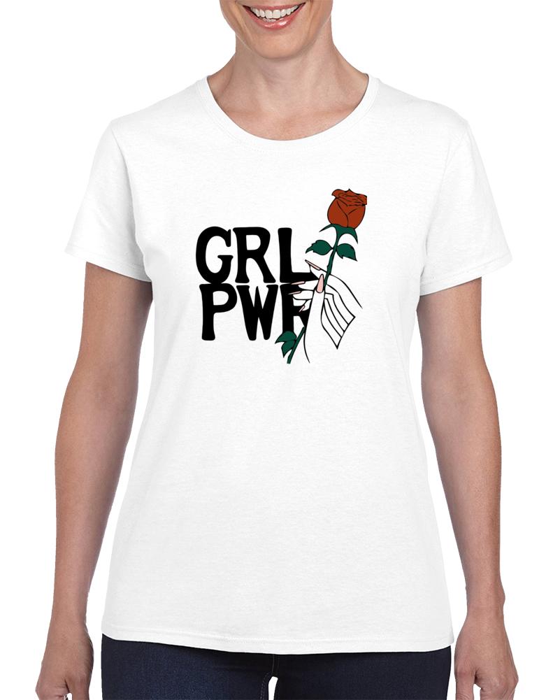 Grl Pwr Rose T Shirt