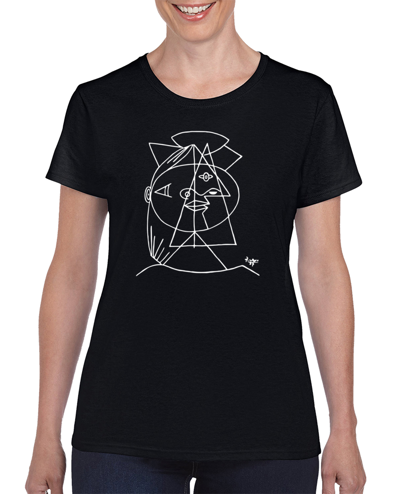 CUBIC SKETCH T Shirt